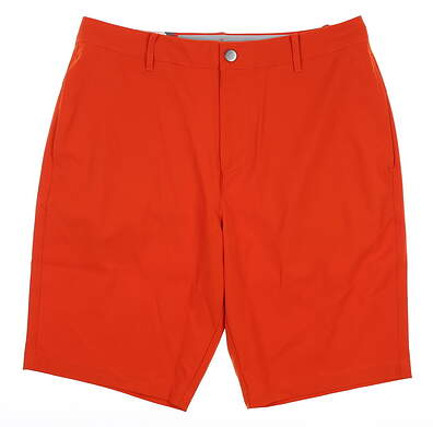 New Mens Puma Jackpot Shorts 32 Vibrant Orange MSRP $65 578182