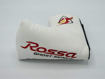 TaylorMade Rossa Ghost Series Mid-Mallet Putter Headcover w/Magnetic Closure White