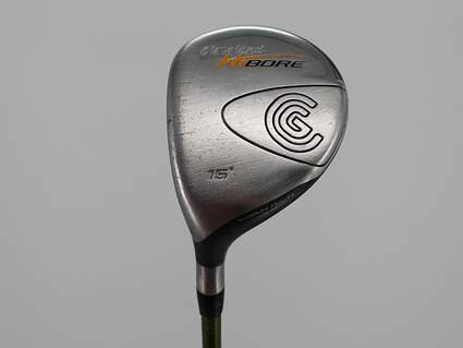 Cleveland Hibore Fairway Wood 3 Wood 3W 15° Aldila NV 65 Graphite Regular Left Handed 43.0in