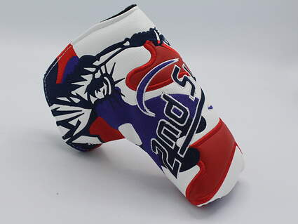 """CMC Design Limited Edition 2nd Swing Themed """"Mamaroneck, New York"""" Putter Headcover"""