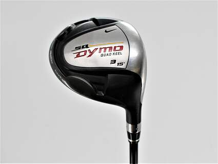 Nike Sasquatch Dymo Fairway Wood 3 Wood 3W 15° Stock Graphite Shaft Graphite Regular Right Handed 43.0in
