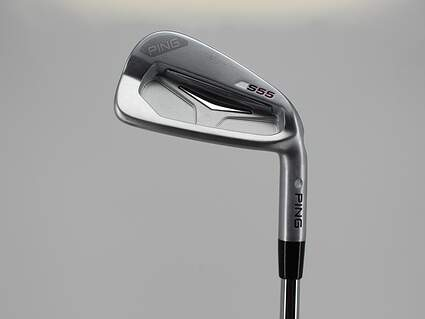 Ping S55 Single Iron 4 Iron Dynamic Gold Tour Issue X100 Steel X-Stiff Right Handed Silver Dot 38.25in