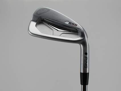 Ping S55 Single Iron 4 Iron True Temper Elevate Tour Steel X-Stiff Right Handed Black Dot 38.5in