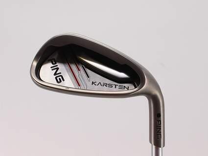 Ping 2014 Karsten Single Iron Pitching Wedge PW Ping KS 401 Graphite Stiff Right Handed Black Dot 35.75in