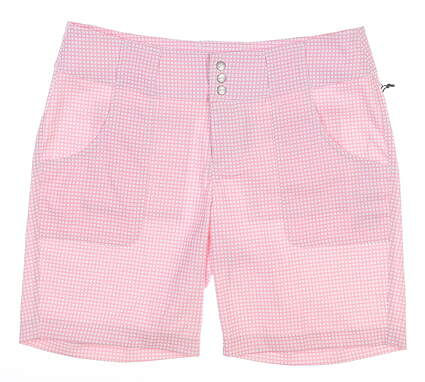 New Womens Jo Fit Belted Shorts 0 Pink MSRP $76 GB505-BLC