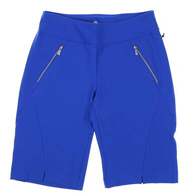 New Womens Tail Golf Shorts 8 Blue MSRP $85 GF4593-8086