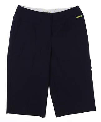 New Womens Swing Control Resort Shorts 6 Navy Blue MSRP $108 B2000