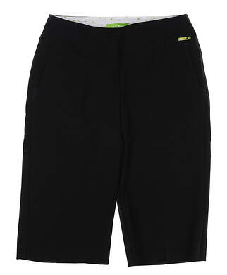 New Womens Swing Control Resort Shorts 6 Black MSRP $108 B2000