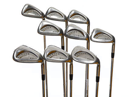TaylorMade Burner Midsize Iron Set 3-PW SW True Temper Dynamic Gold Steel Stiff Right Handed 38.0in
