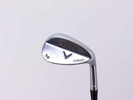 Callaway Forged Chrome Wedge Gap GW 50° Stock Steel Shaft Steel Wedge Flex Right Handed 35.5in