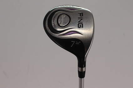 Ping Rhapsody Fairway Wood 7 Wood 7W 26° Ping ULT 129F Ladies Graphite Ladies Right Handed 41.5in