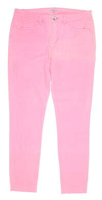 New Womens Peter Millar Pants 8 Pink MSRP $100 LS18B46
