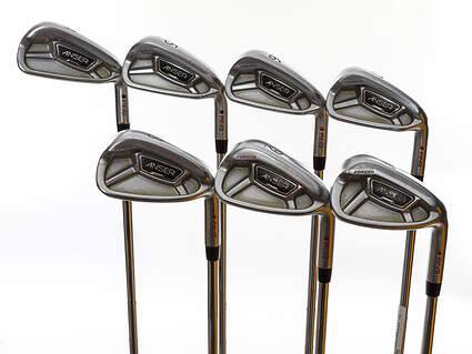 Ping Anser Forged 2013 Iron Set 4-PW Dynamic Gold Tour Issue X100 Steel X-Stiff Right Handed Red dot 37.75in