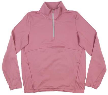 New Womens Puma Cloudspun 1/4 Zip Pullover Small S Foxglove 597712 03 MSRP $75