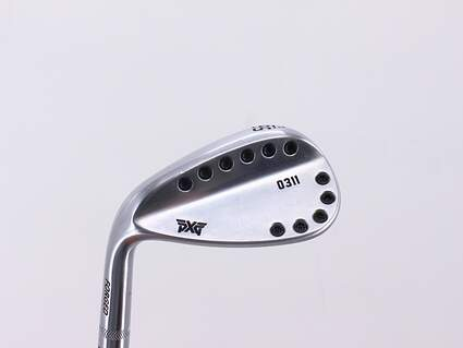 PXG 0311 Chrome Wedge Sand SW 56° 14 Deg Bounce True Temper Dynamic Gold S300 Steel Stiff Left Handed 35.25in