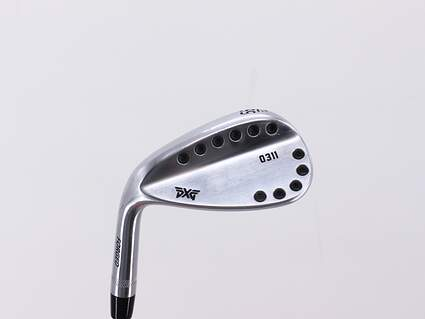 PXG 0311 Chrome Wedge Sand SW 56° 14 Deg Bounce FST KBS 610 Steel Wedge Flex Left Handed 35.0in