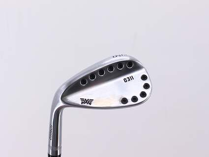 PXG 0311 Chrome Wedge Sand SW 56° 14 Deg Bounce True Temper Dynamic Gold S300 Steel Stiff Left Handed 35.5in