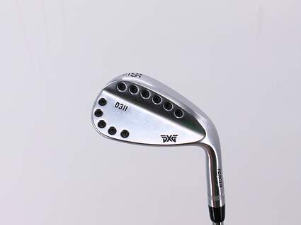 PXG 0311 Chrome Wedge Sand SW 56° 14 Deg Bounce FST KBS 610 Steel Wedge Flex Right Handed 35.25in
