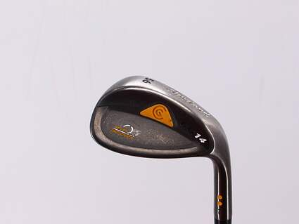Cleveland CG14 Gunmetal Wedge Sand SW 56° 14 Deg Bounce Cleveland Traction Wedge Steel Wedge Flex Right Handed 35.5in