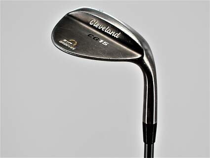 Cleveland CG15 Black Pearl Wedge Lob LW 58° 12 Deg Bounce Matrix Studio 84 Graphite Wedge Flex Right Handed 35.25in
