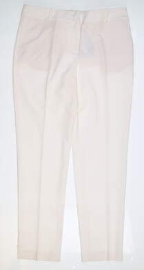 New Womens Fairway & Greene Lucy Ankle Pants 4 White MSRP $116 H32284