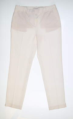 New Womens Fairway & Greene Lucy Ankle Pants 6 White MSRP $116 H32284