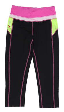 New Womens Daily Sports DSX Leggings X-Small XS Multi MSRP $155 556-212