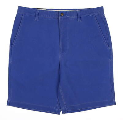 New Mens Footjoy Washed Twill Shorts 36 Blue MSRP $70 23936