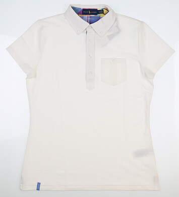 New Womens Ralph Lauren Polo Medium M White MSRP $98