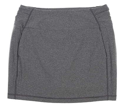 New Womens Under Armour Golf Skort Large L Gray UW1199 MSRP $70