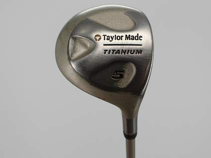 TaylorMade Ti Bubble Fairway Wood 5 Wood 5W 15° TM Bubble Graphite Ladies Right Handed 41.5in