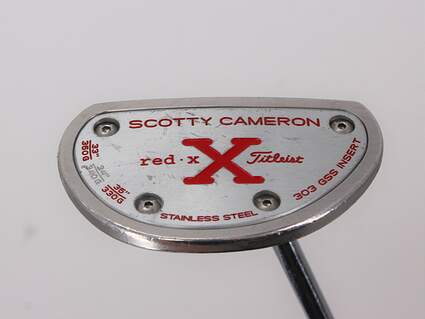 Titleist Scotty Cameron Red X2 Putter Steel Right Handed 33.5in