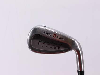 TaylorMade Supersteel Single Iron 5 Iron TM S-90 Steel Stiff Right Handed 37.5in