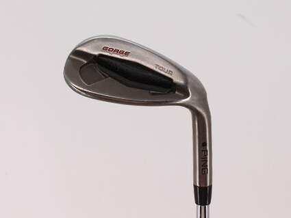 Ping Tour Gorge Wedge Lob LW 60° Standard Sole Ping CFS Steel Stiff Right Handed Black Dot 35.0in