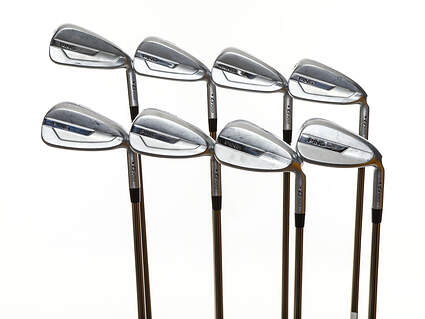 Ping G700 Iron Set 4-PW GW UST Recoil 780 ES SMACWRAP Graphite Regular Right Handed Black Dot 38.25in