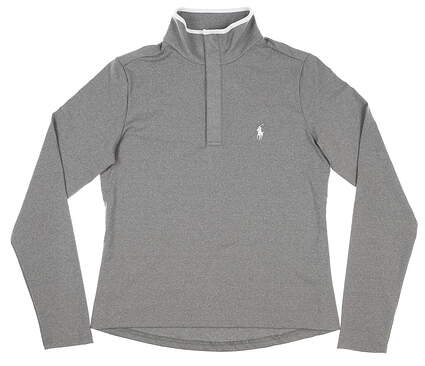 New Womens Ralph Lauren Golf Pullover Small S Gray MSRP $130