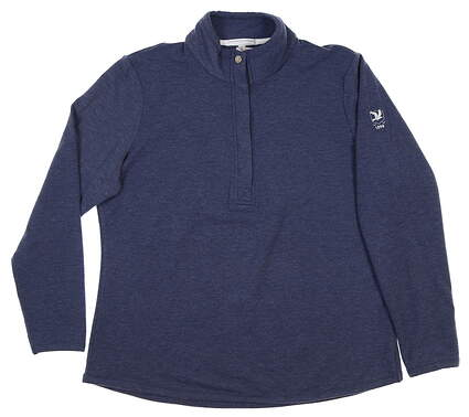 New W/ Logo Womens Fairway & Greene Kate Pullover X-Large Navy Blue H12250 MSRP $120