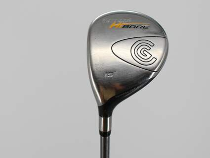 Cleveland Hibore Fairway Wood 3 Wood 3W 15° Stock Graphite Shaft Graphite Stiff Left Handed 43.5in