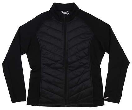 New Womens Straight Down Nova Hybrid Jacket X-Large Black MSRP $120 W60271
