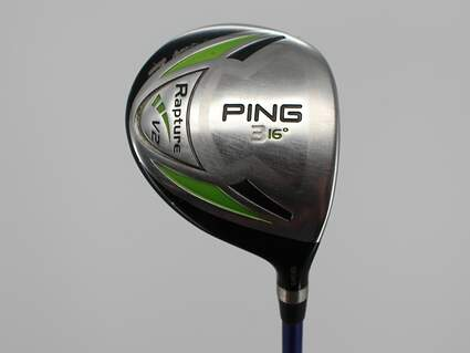 Ping Rapture V2 Fairway Wood 3 Wood 3W 16° Mitsubishi Rayon Javln FX M7 Graphite Stiff Right Handed 42.75in
