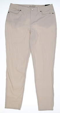 New Womens Nike Slim Fit Golf Pants 8 Khaki MSRP $95 BV6081