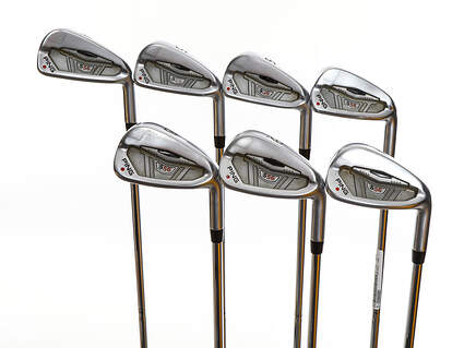 Ping S56 Iron Set 4-PW True Temper Steel Stiff Right Handed Red dot 37.75in