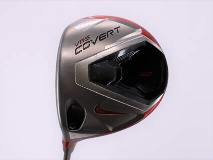 Nike VRS Covert 2.0 Driver 8.5° Mitsubishi Kuro Kage Red 50 Graphite Stiff Left Handed 45.25in