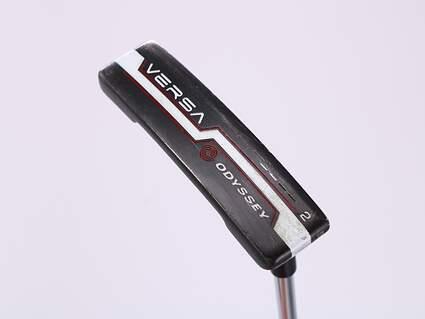 Odyssey Versa #2 Black White Black Putter Steel Right Handed 32.0in