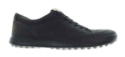 New Mens Golf Shoe Ecco Street Retro Medium 44 (10-10.5) Black MSRP $140 150614 01001