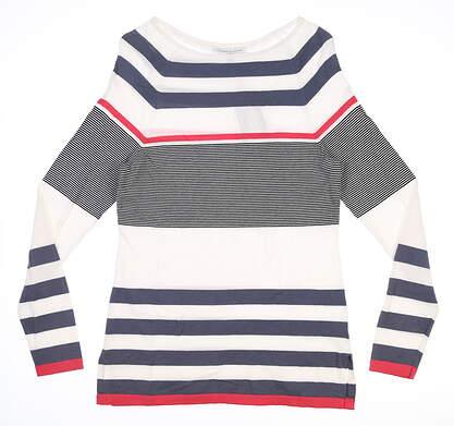 New Womens Fairway & Greene Amy Sweater Small S Navigator MSRP $200 J32270
