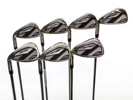 Mint Callaway Mavrik Iron Set 5-PW GW True Temper Elevate 95 VSS Steel Regular Left Handed 38.25in