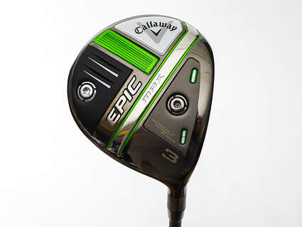 Mint Callaway EPIC Max Fairway Wood 3 Wood 3W 15° Project X HZRDUS Smoke iM10 60 Graphite Stiff Right Handed 43.0in