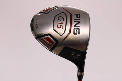 Ping G15 Draw Driver 9° Accra Dymatch RT S1-50 Graphite Senior Right Handed 45.25in