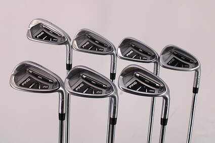Ping I20 Iron Set 5-PW GW True Temper Steel Regular Right Handed Silver Dot 38.5in